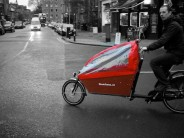 Designed from the ground up to transport as many as three children in comfort and safety, everything about the Bakfiets feels burly and well designed...