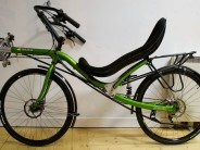 """This lovely apple-green Gaucho 26"""" came through the Laid-Back-Bikes showroom recently, and I was able to steal a (short!) test ride as well as a handful of pictures..."""