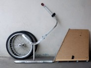 A quick look at my flat-pack design for a bicycle snow plough, based on the Carry Freedom Y-Frame. From cupboard to street hero in moments!