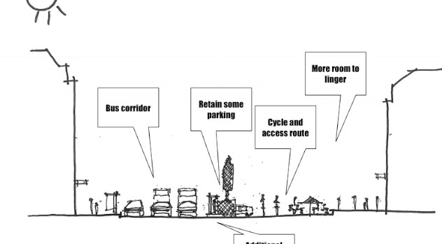 Princes St to be rebuilt… without cycle provision