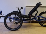 The ICE Adventure is aimed at the relaxed rider - this Heavy Duty version is particularly suited to the more portly...