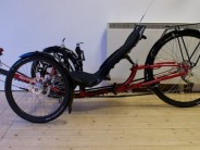 The ICE Sprint 26 might strike the best all-round balance of the ICE recumbent trike range...