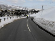 A great new 200km audax near Biggar, criss-crossing the Lowther hills in perfect weather!