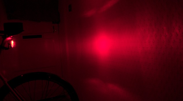 Cyclists: blinding tail lights make you less safe