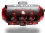 A big light with ten(!) LEDs, the Cateye LD1100 has great battery life and a variety of modes, some more gimmicky than others...